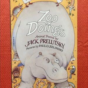 Zoo Doings by Jack Prelutsky